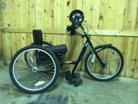 I'm offering my 2010 invacare top end handcycle. Price
