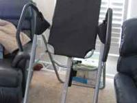 Inversion Table for sale. Need the space and money.