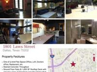 Downtown Dallas LOFT/OFFICE- One-of-a-Kind Multi use