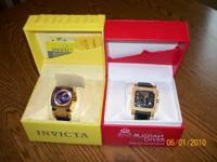 INVICTA WATCHES $100 EACH.PLEASE CALL  OR  ASK FOR