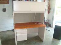"Nice metal desk made by ""Invincible Office Furniture"""