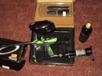Smart Parts ION paintball gun Halo electronic hopper