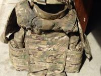 I have multicam iotv with front back and side plates,
