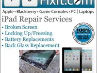 WE CAN REPAIR YOUR IPADS USUALLY SAME DAY.   YUFIXIT