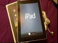 "IPad 1st Generation 9.7"" 64GB WI-FI. Good condition."