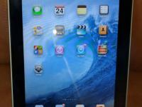 Used, first generation Apple Ipad. 32 gb of storage,