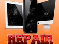 Apple Device Repairs: iPhones, iPads, iPods. We at
