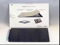 Genuine leather iPad Smart Cover. Model MC947LL/A,