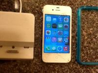 Text or email  Unlocked iPhone 4 8GB for Verizon,