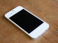 UP FOR SALE IS A GREAT CONDITION IPHONE 4 16GIG THAT