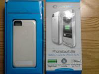 PhoneSuite Elite Battery + Case for iPhone 4/4S. gives