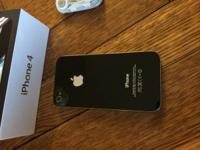 """NEAR MINT""-Apple iPhone 4 - 8GB - Black (AT&T)"