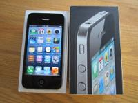 1- Mint Used Apple iPhone4 16GB-Black ANY SIM Clean