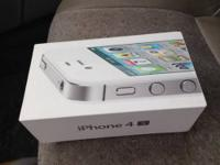 I am selling my IPHONE 4S 64GB in MINT condition white