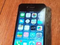 iphone 4s from at&t the color is black. phone has 16GB