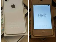 I have a white and black iPhone 4s in like new