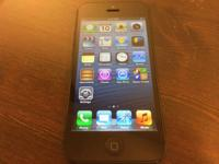 iPhone 5 16GB for Sprint in black in excellent