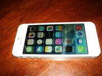 Iphone 5 White (blanco). 8 Gb. Sprint, works