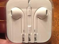 For sale is brand new Apple iPhone 5/5S headphones for