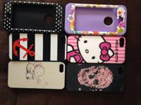 These phone cases have been used once or twice. They