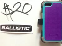 Item: OEM Ballistic Apple iPhone 5 SG MAXX Hybrid Case