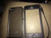 I have a black iphone 5 or 5s life proof case brand new