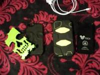 Three iPhone 5 cases for sale. One hard shell D-tech