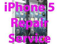 Iphone 5 Fix the screen and LCD for only $130.00 That