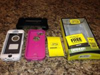 iphone 5 Hot Pink Otter Box Defender Series Purchased