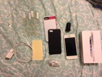 AT&T white iPhone 5 16gb for sale. It's in perfect