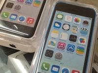 New in the box Apple iphone 5C. 16GB. Blue or white