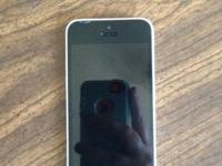 iPhone 5c white. 16gb. Was an alltel phone. Is not