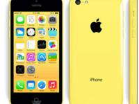 Yellow iphone 5c perfect condition brand new moving