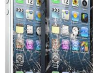 Iphone 5,5c,5s crack screen repair service original oem