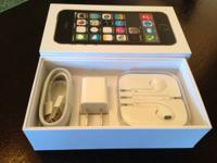 Brand New At&t iPhone 5S 16GB  Only opened to activate