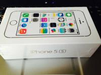 IPHONE 5S BRAND NEW IN SEALED BOX 16-GB SILVER / GOLD