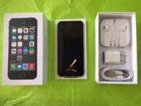 * ~ * ~ * ~ * IPHONE 5S AT&T 64GB SPACE-GREY ALL NEW IN