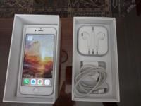Unlocked GSM iPhone 6 64GB for sale. Comes with