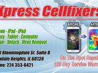 iPhone repairs while you wait. Xpress Cellfixers get