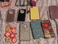 Hi, I have 14 never made use of iPhone 4 cases, plus an