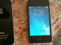I have two black iPhone 4S 16GB phones that were