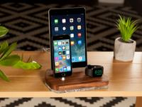This docking station for three devices is the ideal