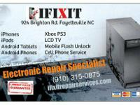 iFixit   924 BRIGHTON ROADWAY FAYETTEVILLE 28314 315--