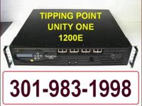 Tipping Point 1200E Unity One - Computer Intrusion