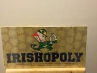 Irishopoly, made for alumni, students and close friends