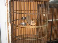 I HAVE DIFFERENT SIZES OF IRON BIRD CAGES AVAILABLE. 2