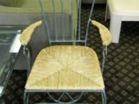 Iron Chairs Set Of 2   $100 (60/40 Furniture Consignment, Pensacola)