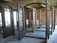 Description * Beautiful Decorative iron Forge Doors *