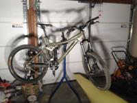 Iron equine 7 point bike. Features additional shock and