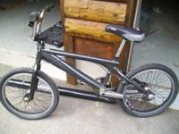 I am selling a black Iron Horse BMX bike in great